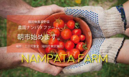 【福岡の無農薬野菜・農園ナンパタファーム】How about going to 「朝市」for the weekends??
