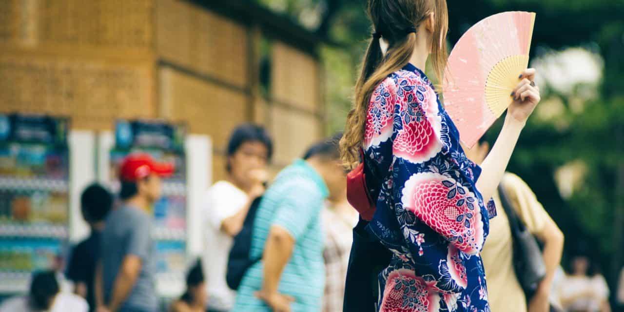 夏は浴衣コーデで、ヤマトナデシコ。