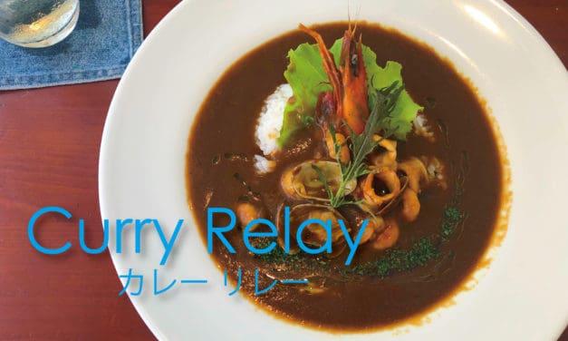 【福岡カレー】ロケーション最高!糸島海沿いカフェ、「サンフラワーさん」シーフードカレー。