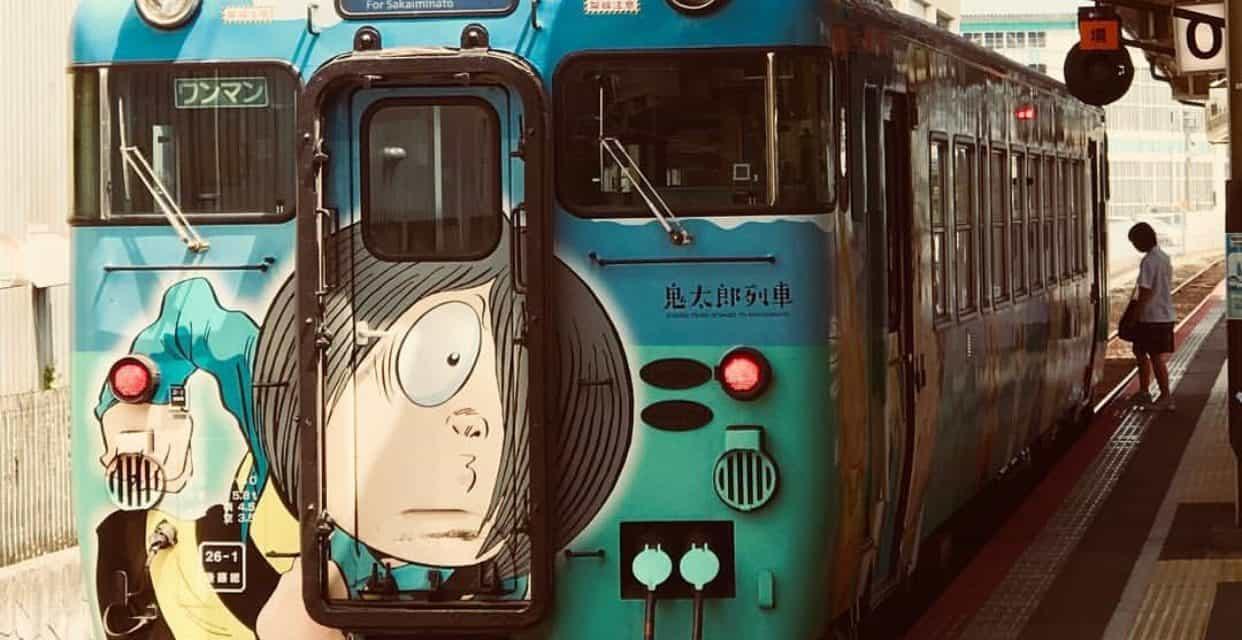 【鳥取_CANON&SONY】米子駅、鬼太郎列車と伯耆富士 _ONE DAY ONE SHOOTING !
