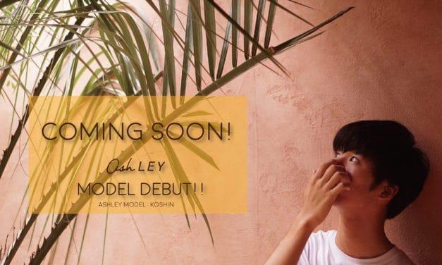 【Coming Soon!】 Ashley読者モデルが、まもなくデビュー!