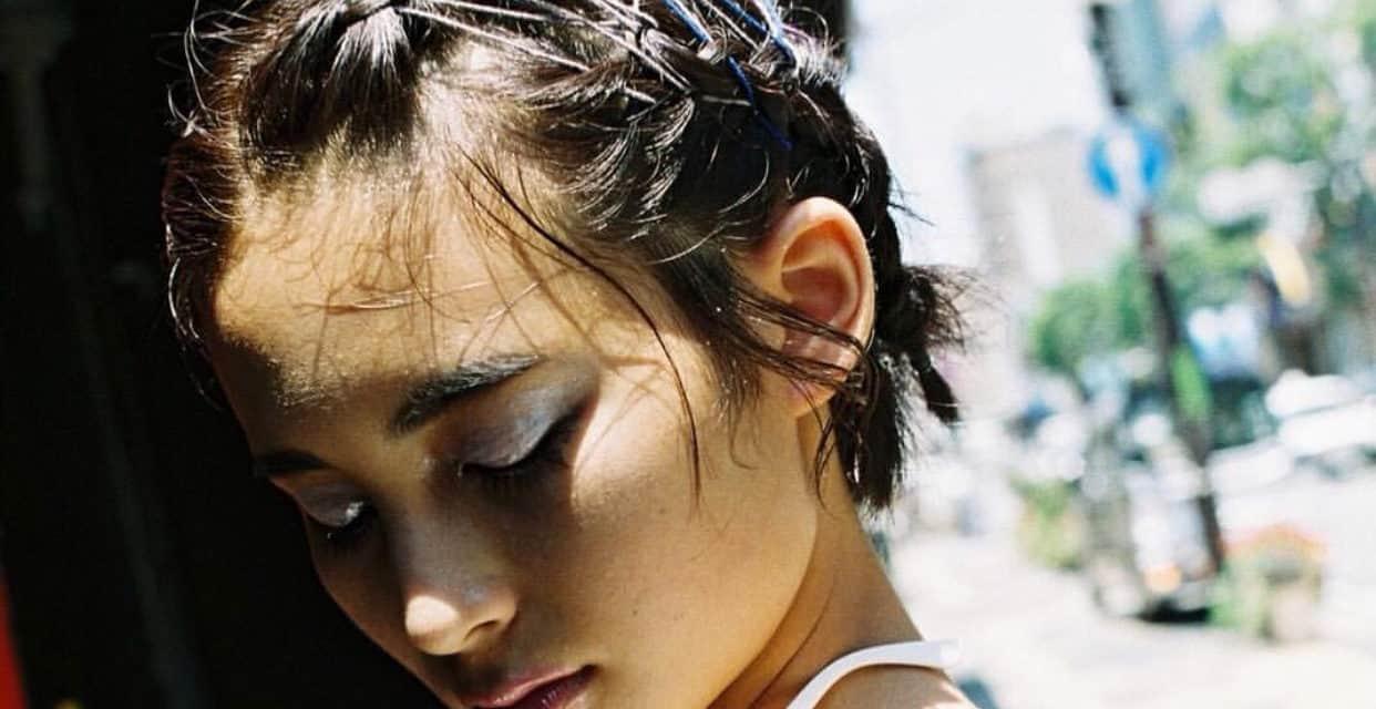 【ヘアメイク】Hairmake_FULL_days レースアップ&グリッター。