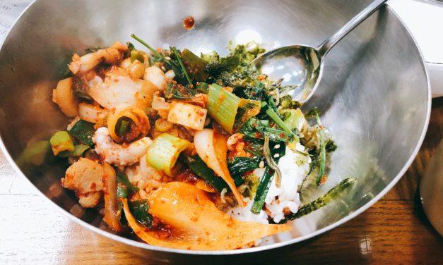 【韓国グルメ】海を超えて、낙지볶음 (ナッチポックン)食べてきました。