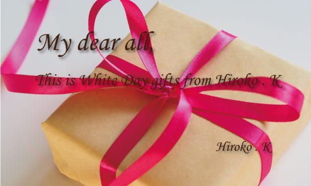【応募終了】Ashley読者プレゼント・ホワイトDAYプレゼントが届きました。