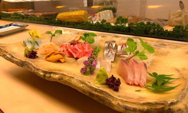 【福岡・鮨】たまには贅沢すぎる鮨ランチ、「酔虎寿し」でいかがですか。