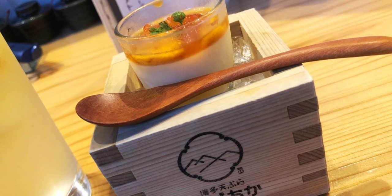 【福岡・天ぷら】上人橋通りにある、気軽に飲める天ぷら居酒屋「博多天ぷら ながおか」さん。