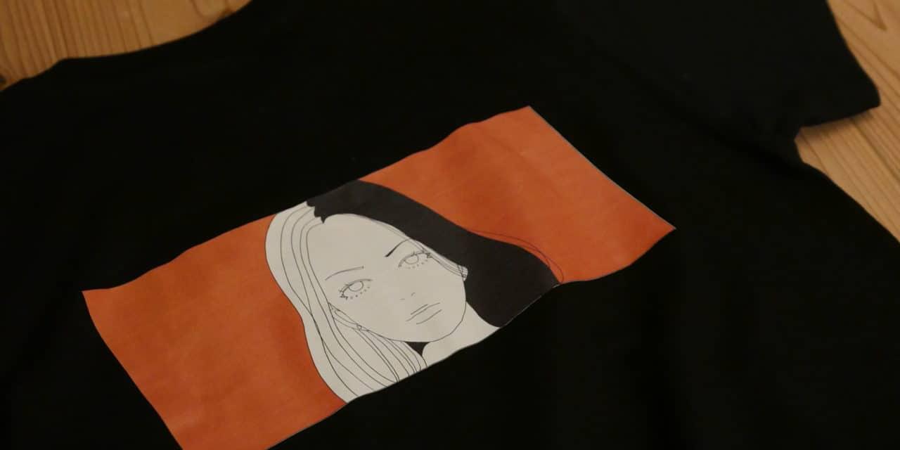 【福岡アート】福岡を拠点に活動するイラストレーターCOLD BEANS「初のオリジナルTシャツ」本日8/6発売スタート。
