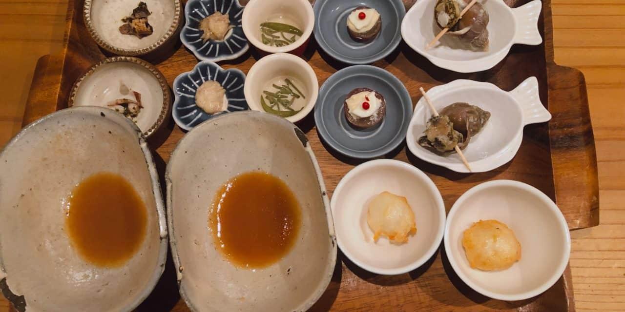 【福岡・創作和食】天ぷらと肴のうどん酒場「ニューえぶりお」さんへ。