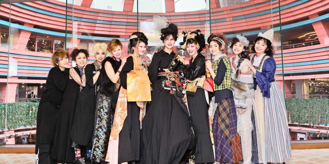 【福岡・美容師イベント】TAYAクリエイティブチーム、新年 ヘアショーを披露。